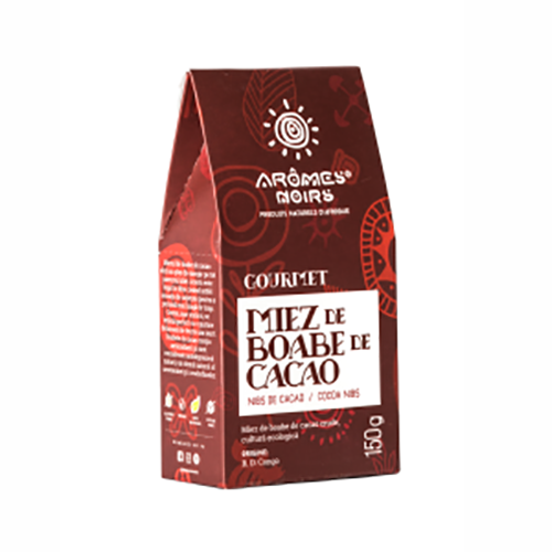Miez din boabe de cacao Gourmet 150G AROMES NOIRS