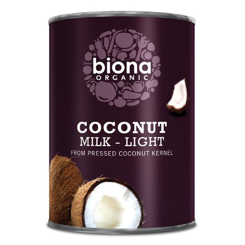 Lapte de cocos bio light 400ML BIONA