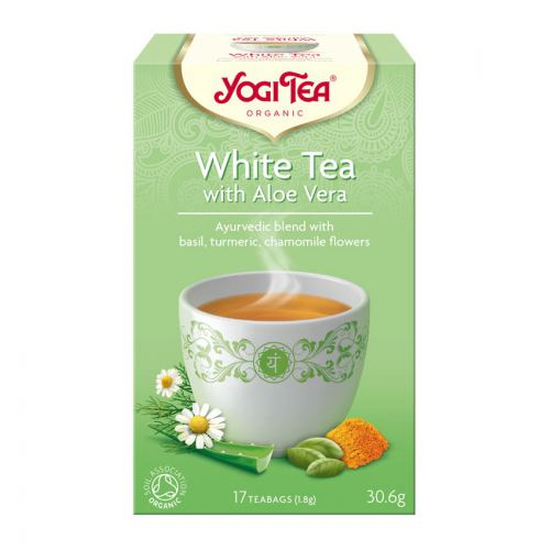 Ceai alb bio cu aloe vera 17DZ YOGI TEA