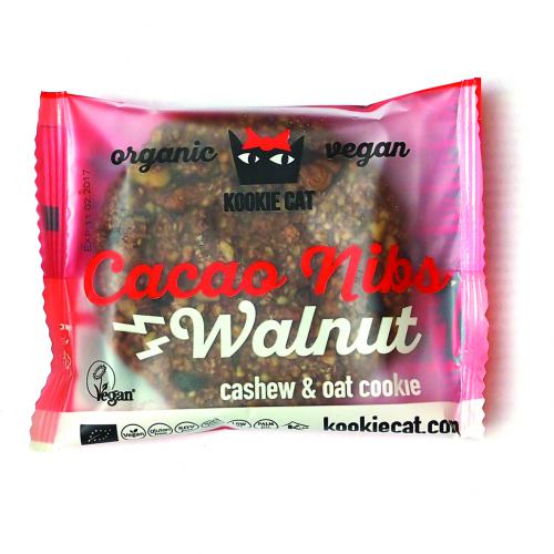 Cookie cu nuci si cacao fara gluten 50G KOOKIE CAT