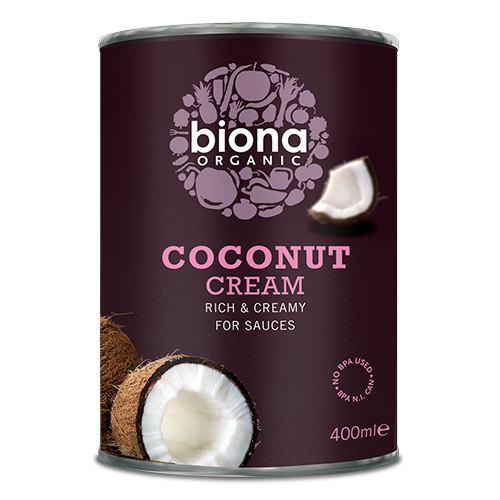Crema de cocos 80% 400ML BIONA