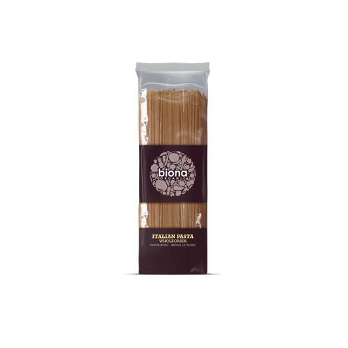 Spaghetti integrale din grau bio 500G BIONA
