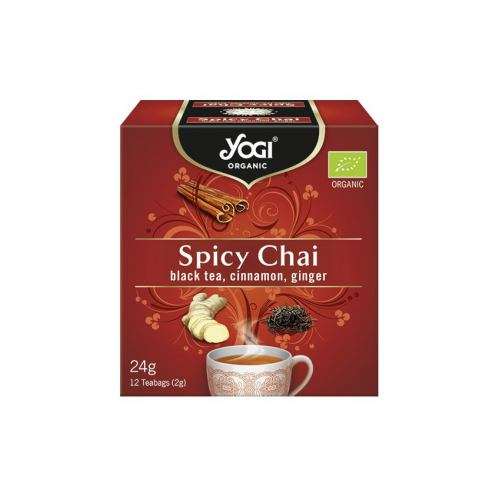 Ceai bio cu mirodenii 12DZ YOGI TEA