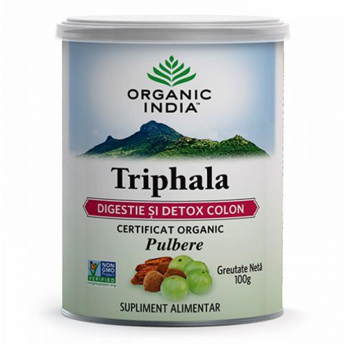 Triphala pudra 100G ORGANIC INDIA