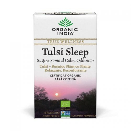 Ceai Tulsi Sleep 18DZ ORGANIC INDIA