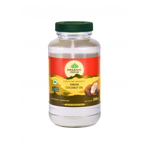 Ulei de cocos virgin presat la rece 500ML ORGANIC INDIA