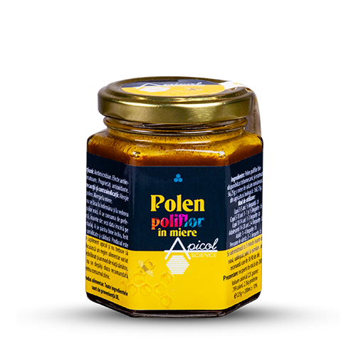 Polen poliflor in miere 25% 200ML DVR