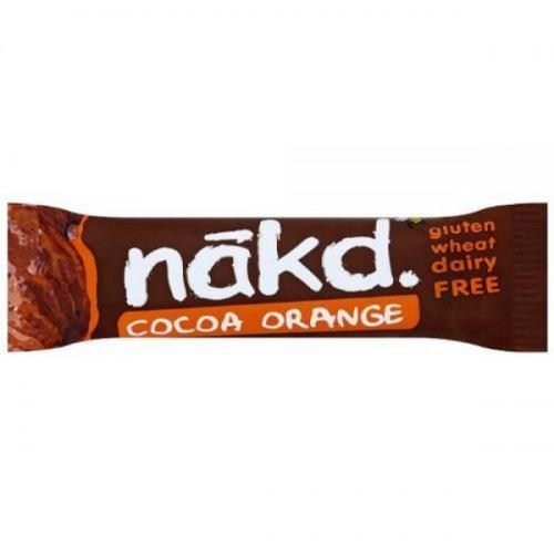 Baton raw vegan Cocoa Orange 35G NAKD