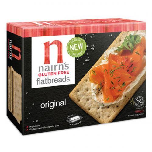 Felii de paine crocanta fara gluten 150G NAIRN'S