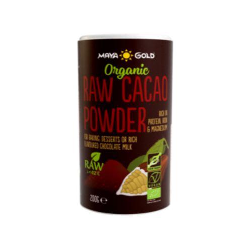 Pudra de cacao raw eco 200G MAYA GOLD
