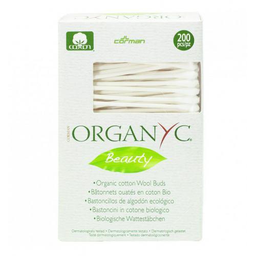 Betisoare pentru urechi cu bumbac organic 200BUC ORGANYC