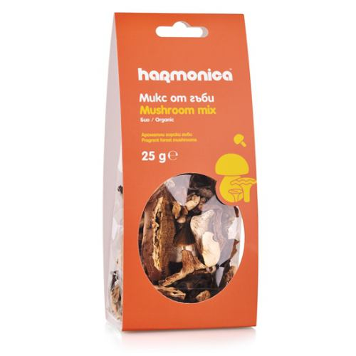 Mix de ciuperci bio deshidratate 25G HARMONICA