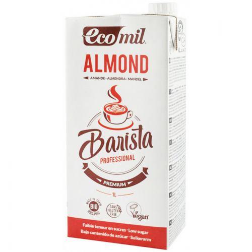 Bautura vegetala bio de migdale pentru cafea 1L ECOMIL