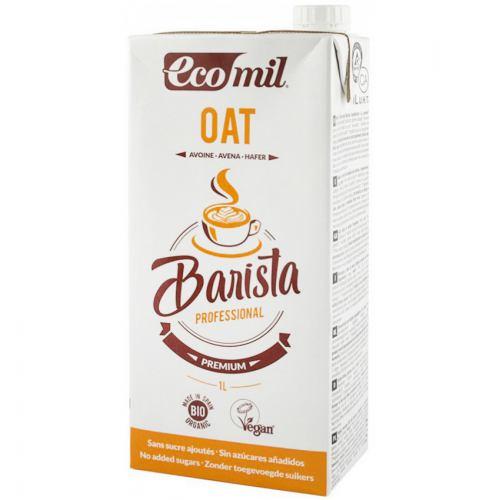 Bautura vegetala bio de ovaz pentru cafea 1L ECOMIL
