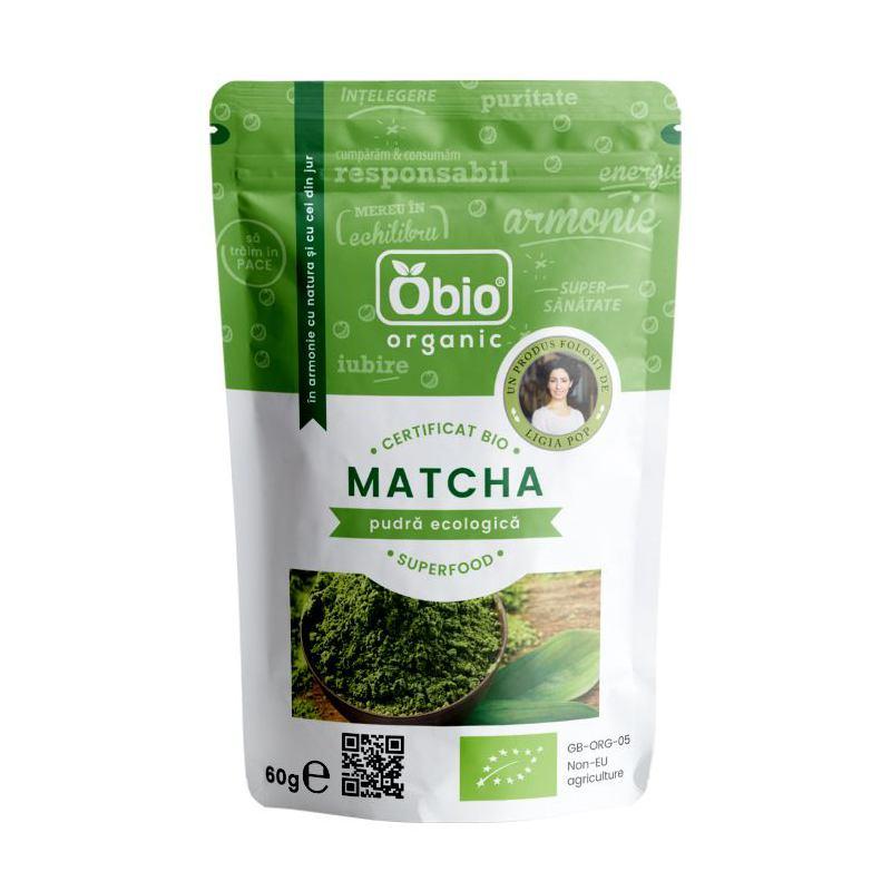 Matcha pudra ecologica 60G Bio Holistic
