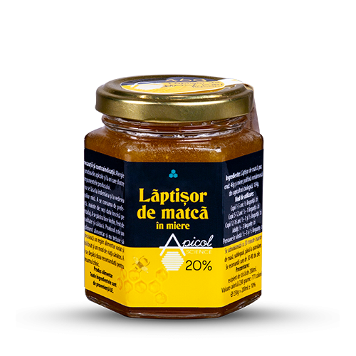 Laptisor de matca in miere 20% 200ML DVR PHARM