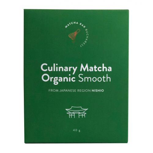 Culinary Matcha Organic Smooth 40G MATCHA BAR