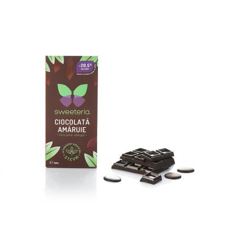 Ciocolata amaruie 70% cacao 100G SWEETERIA