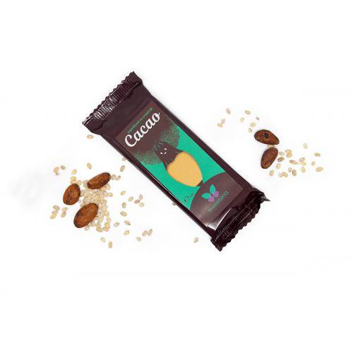Napolitana cu crema de cacao si stevia 40G SWEETERIA
