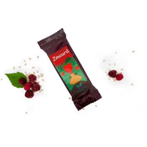 Napolitana cu crema de zmeura si stevia 40G SWEETERIA