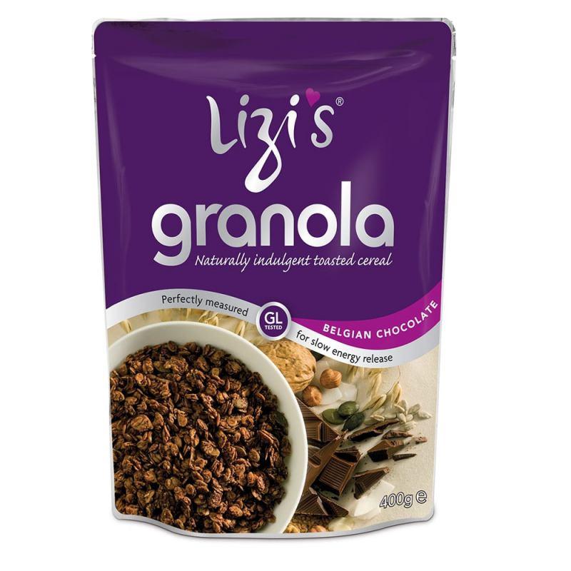 Granola cu ciocolata belgiana 400G LIZI'S