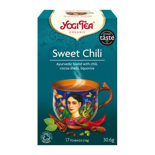 Ceai bio ardei dulce 17DZ YOGI TEA