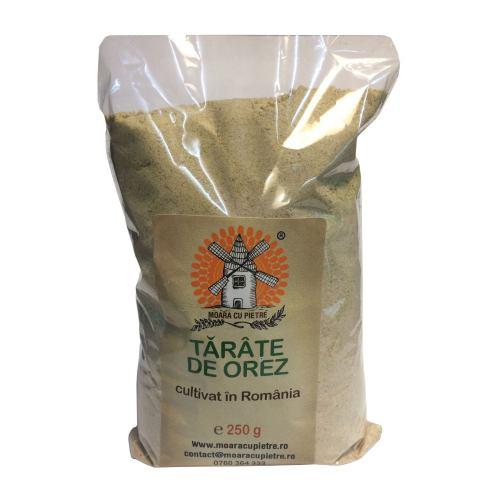 Tarate de orez cu germeni 250G MOARA CU PIETRE