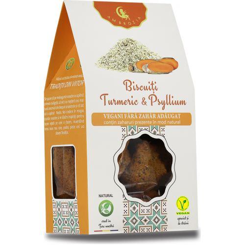 Biscuiti Vegani Digestivi cu Turmeric 150 g Hiper Ambrozia