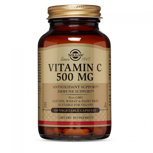 Vitamina C 500MG 100CPS SOLGAR