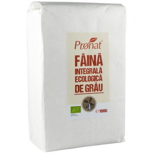 FAINA INTEGRALA DE GRAU ECOLOGICA 1KG PRONAT