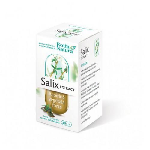 Salix Extract (Aspirina Vegetala Forte) 30cps ROTTA NATURA
