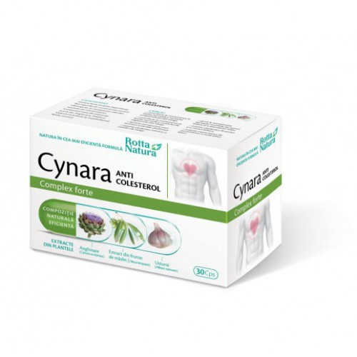 Cynara Anti-Colesterol 30cps ROTTA NATURA