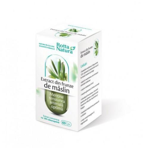Extract Din Frunze De Maslin 60cps ROTTA NATURA