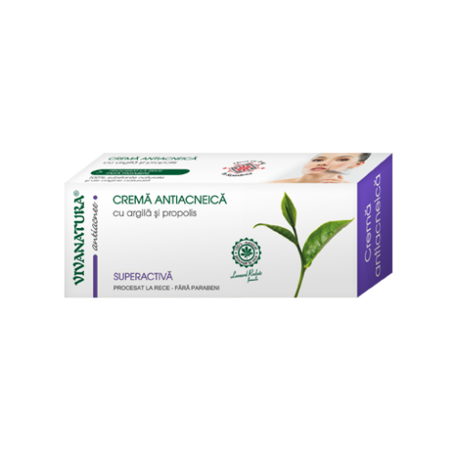 Crema antiacneica 20ml VIVANATURA
