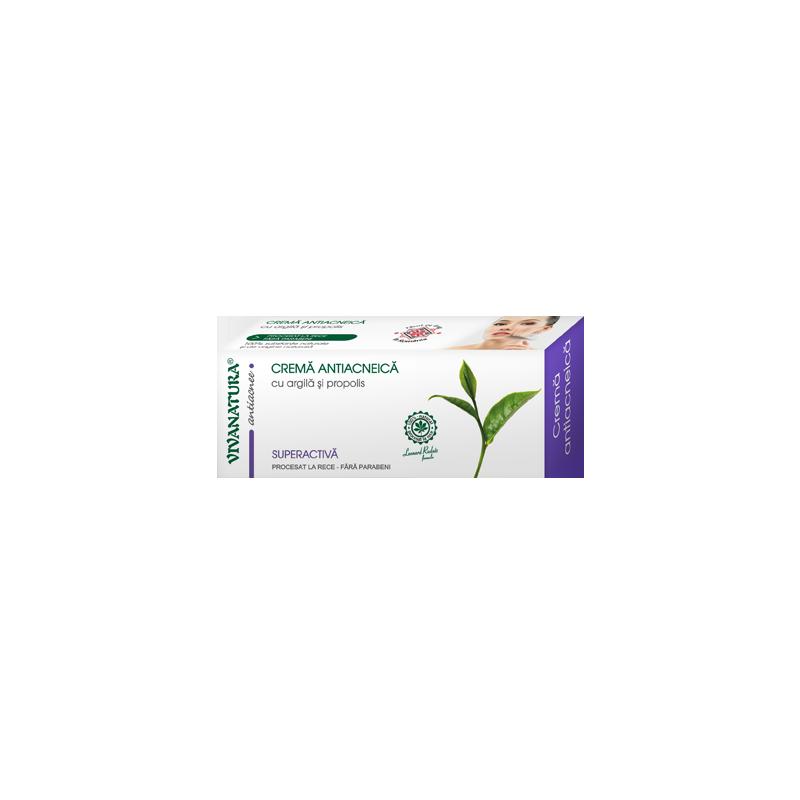 Crema antiacneica 20ml VIVANATURA