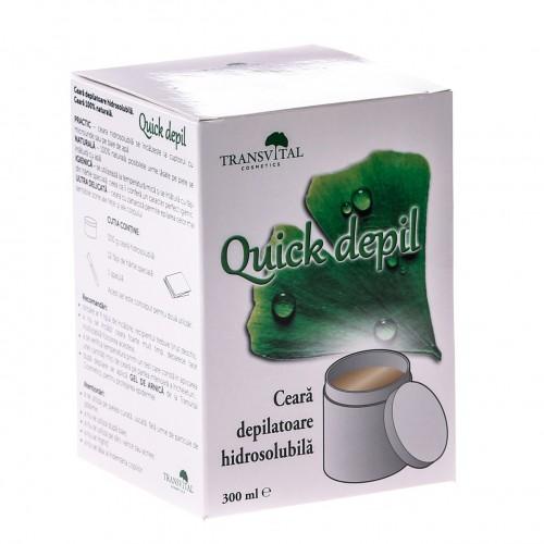 Ceara Naturala Depilatoare Hidrosolubila Quick Depil 300g TRANSVITAL