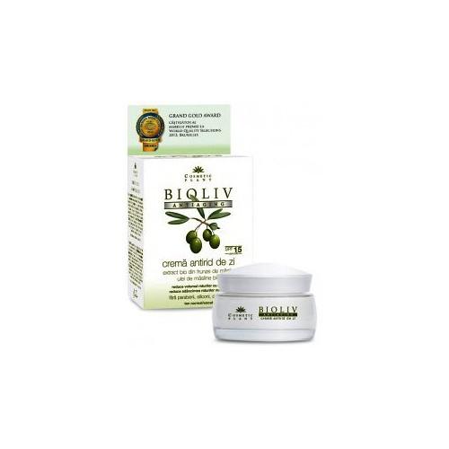Crema Antirid De Zi BIOLIV ANTIAGING 50ml COSMETIC PLANT